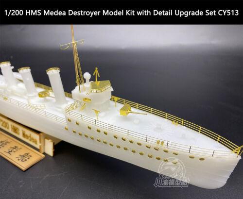 1//200 HMS Medea Destroyer Model Kit with Detail Upgrade Set CY513