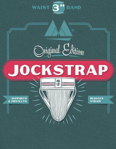 ORIGINAL EDITION BIKE JOCKSTRAP RED JOCK STRAP ATHLETIC SUPPORT MENS UNDERWEAR