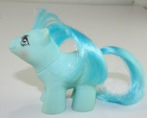 My Little Pony Vintage G1 Newborn Twin NOODLES(DOODLES Twin) Baby Blue (1987)