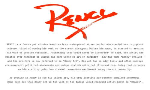 GAME OF THRONES Genuine Legal Tender $2 U.S Bill Pop Art HAND-SIGNED by Rency