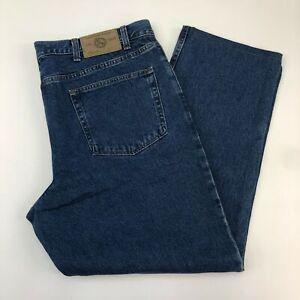 NWT-Eddie-Bauer-Denim-Jeans-Mens-42-Blue-Classic-Fit-100-Cotton-Medium-Washed