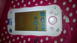 2x-pink-vtech-digigo-tablet-with-camera-kids-educational-toy-console-handheld