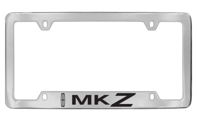 Lincoln MKZ Chrome Plated Metal License Plate Frame Holder | eBay