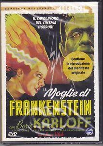 Dvd-Manifesto-LA-MOGLIE-DI-FRANKENSTEIN-con-Boris-Karloff-nuovo-1935