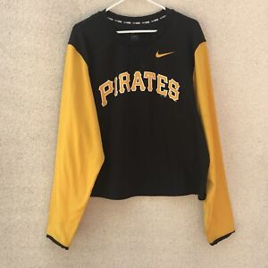 online retailer 52d2e 5c10c Image is loading MLB-Baseball-Pittsburgh-Pirates-Nike-Dri-Fit-Long-