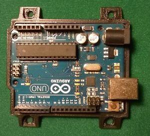 Arduino-UNO-R1-R2-R3-Mount-Holder-Accessory-BLACK