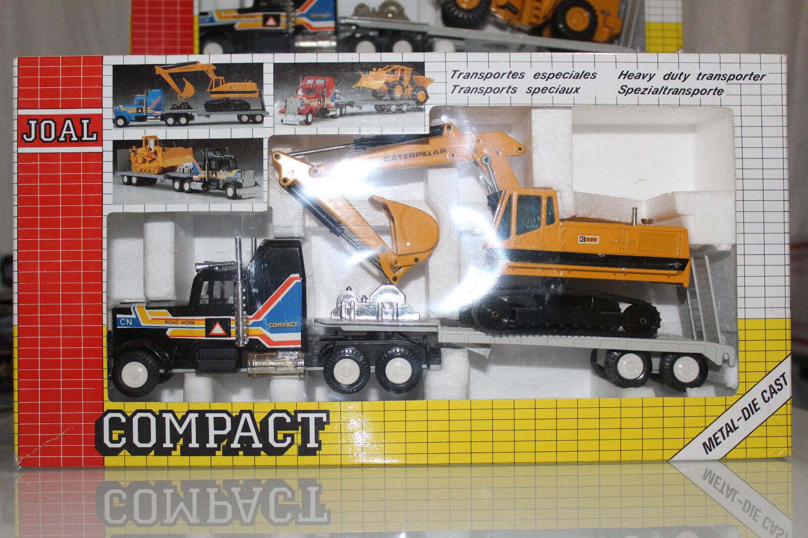 Joal échelle 1 50 Compact Series Heavy Duty transporteur avec CAT 225 Ref. 320