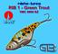 20 g Cicaden Green Trout Art Appât Original ribche Lures VMC 9908 BZ 8 g