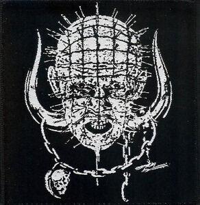 Pinhead-Patch-Hellraiser-Motorhead-Snaggletooth-Warpig-Lemmy-NWOBHM-Clive-Barker