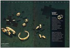 Publicité Advertising 1987 (2 pages) Joaillier Les Bijoux Boucheron