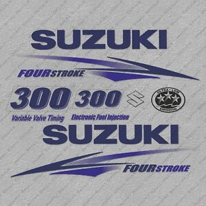 Yamaha 300HP V6 Four Stroke Outboard Engine Decals Sticker Set reproduction 2013