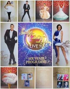 Rare-FULLY-Signed-STRICTLY-LIVE-TOUR-BROCHURE-25-Autographs-CHARITY-AUCTION
