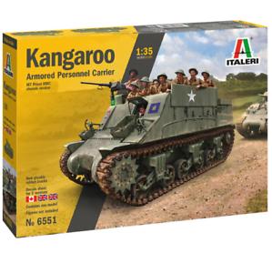 ITALERI-Kangaroo-Tank-Military-Vehicle-6551-1-35-Plastic-Model-Kit