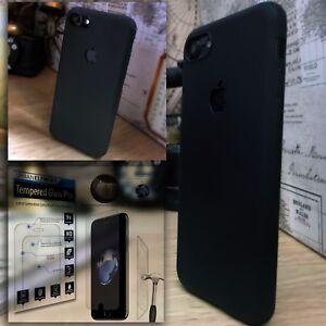 Apple-iPhone-8-Case-Urban-Logo-Impact-Displacement-Glass-Screen-Protector-Black