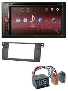 Pioneer-DVD-CD-Bluetooth-USB-MP3-2DIN-Autoradio-fuer-BMW-3er-E46-mit-grossem-Navi