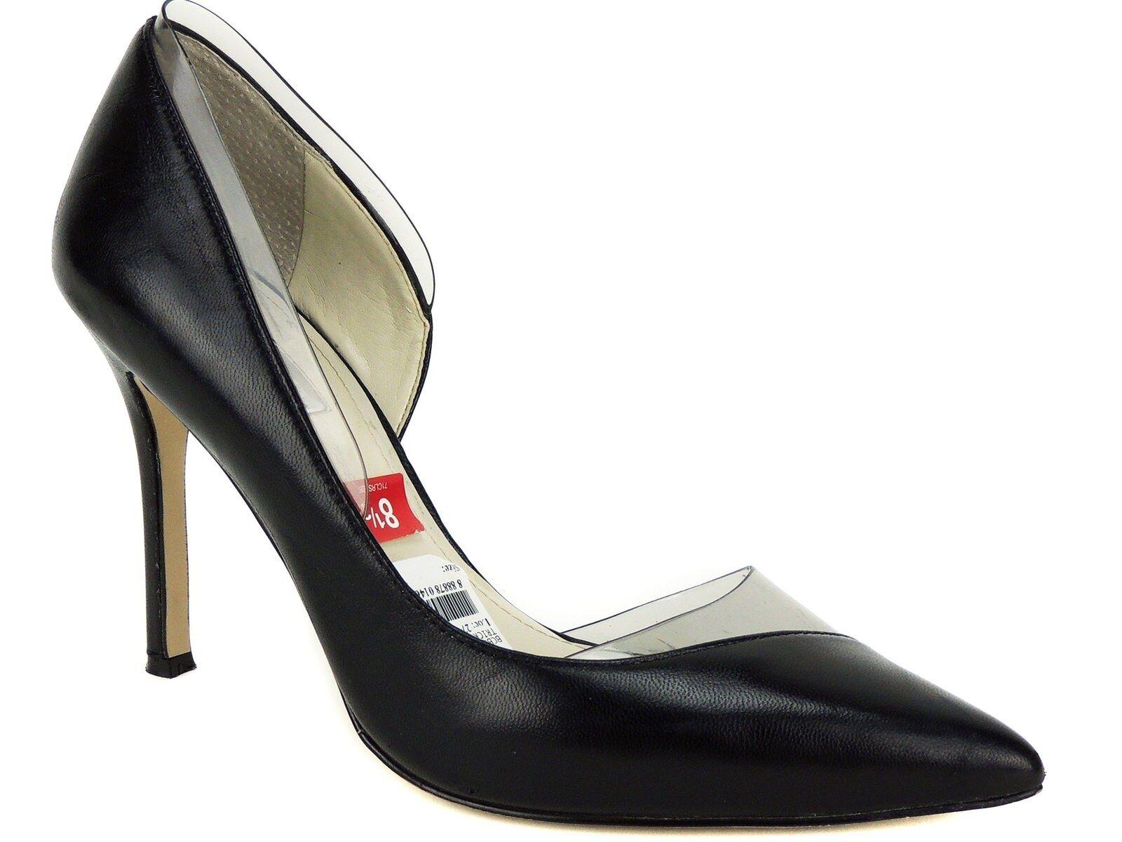 marchio famoso BCBGeneration Donna  Tricky d'Orsay d'Orsay d'Orsay Dress Pumps nero Smoke Leather Dimensione 8.5 M  garanzia di credito