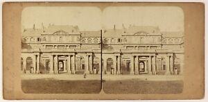 Parigi-Palais-Royal-Foto-Stereo-PL55L4n-Vintage-Albumina-c1865