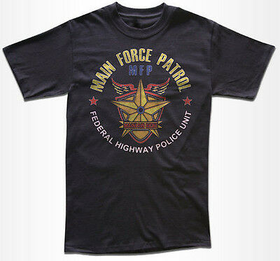 Main Force Patrol T Shirt - Expolitation Movie T Shirt - Inspired By Mad Max