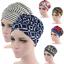 Cotton-Woman-Muslim-Stretch-Turban-Hat-Scarf-Cap-Turban-Bonnet-Cancer-Chemo-Caps thumbnail 1