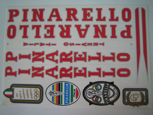 Pinarello Treviso Italia Autocollant Set plusieurs couleurs disponible.