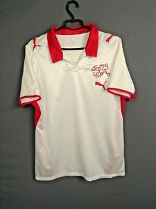 Switzerland Jersey 2008 2010 Away M Shirt Mens Trikot Football Soccer Puma ig93