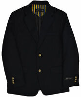 Johnnie Lene Dress Up Boys' Blazer Navy Blue Jacket Sizes Toddler To Teens Jl30