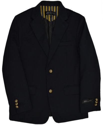 JL30 Johnnie Lene Dress Up Boys/' Navy Blazer Jacket  Sizes Toddler to Teens