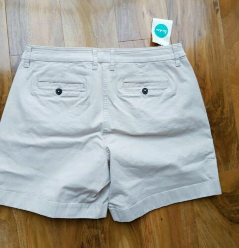 BODEN LADIES GORGEOUS BEIGE CHINO SHORTS WJ043 BRAND NEW RRP £45