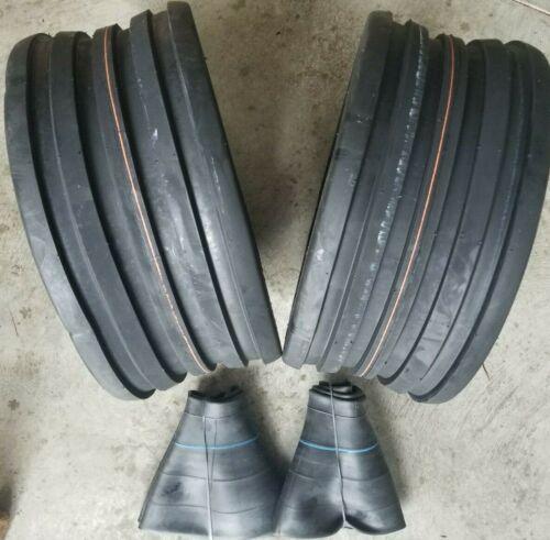 2-18x8.50-8 4-Ply 5-Rib Deep Tubeless Vredestein V61 TIRES and TUBES European