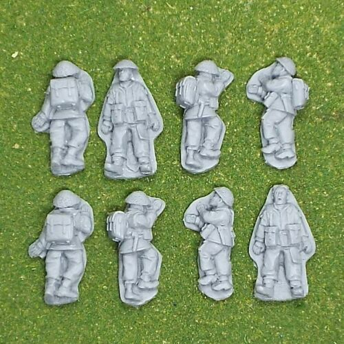 Bolt Action Chain of Command unpainted 28mm WW2 Britsh  Casualties