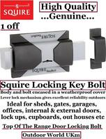 Squire Locking Key Bolt Lock Padlock Door Security Garage Shed Gates Building