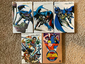 NEW-Batman-Illustrated-Adams-Hardcover-Vol-1-2-3-Graphic-Novel-Lot-Bronze-Age-TP