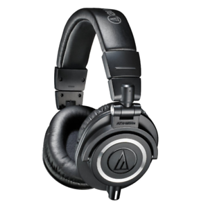 Audio-Technica-ATH-M50X-Closed-Back-Pro-Studio-Monitor-Headphones-Black
