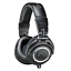 Audio-Technica-ATH-M50X-Closed-Back-Pro-Studio-Monitor-Headphones-Black thumbnail 1