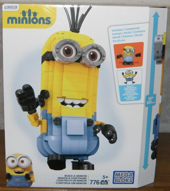 Mattel Mega Bloks DNC19 Minions Sammelkoffer NEU//OVP