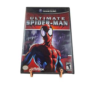 Ultimate Spider-Man Nintendo GameCube 2005 Complete CIB Black Label Tested