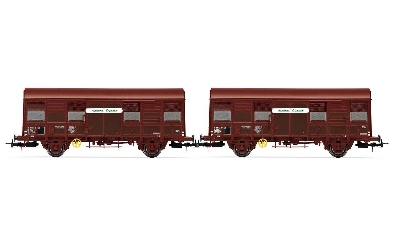 """JOUEF HJ6166 SNCF SET 2 Cocheri Gs 4, """"Aquitaine Express"""" Ep IV"""