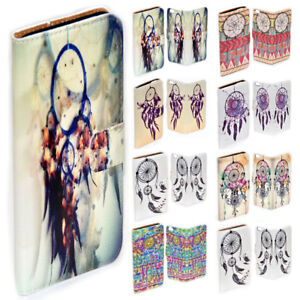 For-Sony-Xperia-Series-Dream-Catcher-Theme-Print-Wallet-Mobile-Phone-Case-Cover