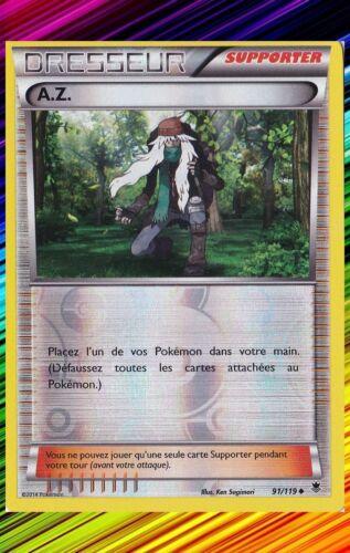 Reverse XY4:Vigueur Spectrale A.Z Carte Pokemon Neuve Française 91//119