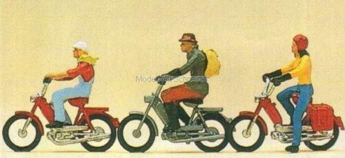H0 Preiser 10125 Mofafahrer Figuren OVP