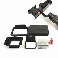 Gopro Hero5 Schalter Mount Halterung+Kamera Sun Shade Für DJI Osmo Mobile Gimbal