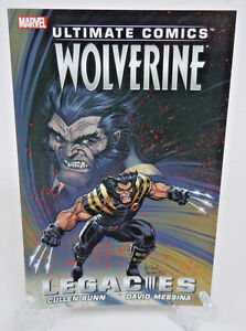 Ultimate-Comics-Wolverine-1-2-3-4-Legacies-Marvel-Comics-TPB-Trade-Paperback-NEW