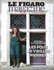 LE FIGARO MAGAZINE N°22426 16/09/2016  LES FOUS DES VIEILLES PIERRES/ REMBRANDT