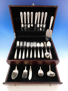 Lady-Hilton-by-Westmorland-Sterling-Silver-Flatware-Set-for-8-Service-47-pieces