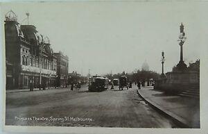 RARE-MELBOURNE-PRINCESS-THEATRE-VICTORIA-EARLY-1900-S-REAL-PHOTO-POSTCARD