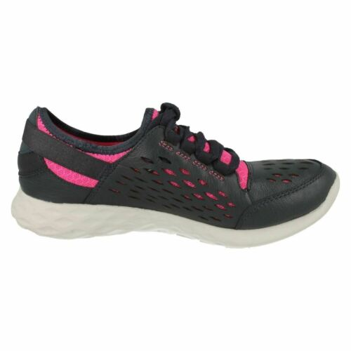 SEREMENE LACE LADIES CLARKS LEATHER LACE UP CAUSAL TRAINERS SPORTS SHOES