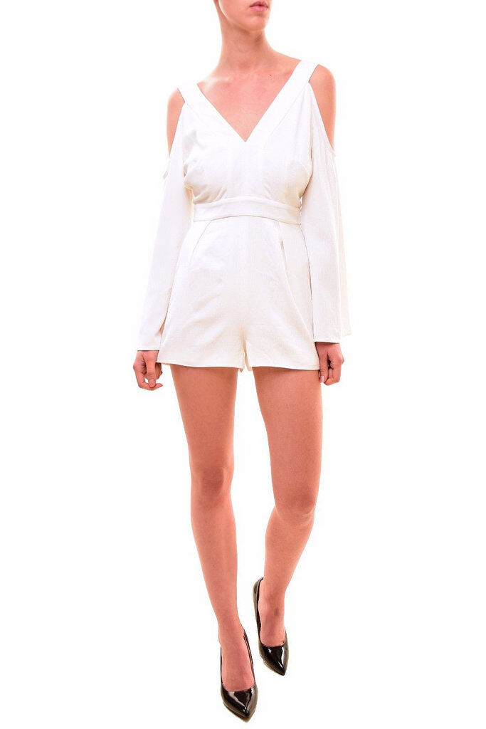 Keepsake Women's In Motion Playsuit Ivory S RRP  BCF79