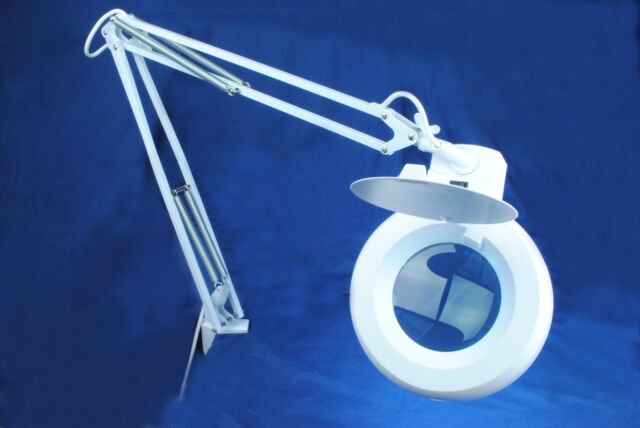 Magnifying Lamp Light 5 Diopter Mag Daylight Bulb Beauty Hobby Dental V5200