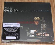 JONGHYUN BLUE NIGHT SHINEE 2 CD + FOLDED POSTER SEALED