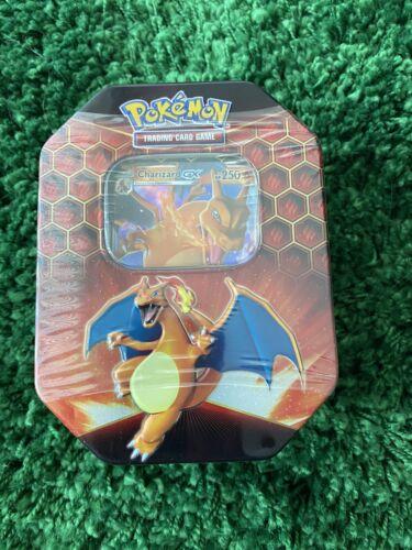 Pokemon TCG: Hidden Fates Charizard-GX Tin SEALED Cards